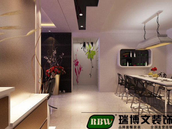 入户玄关墙的设计根据户型结构设计,设计和整个风格协调,起到承上启下的作用。沙发墙摆设照片墙温馨、大方,装饰效果强。