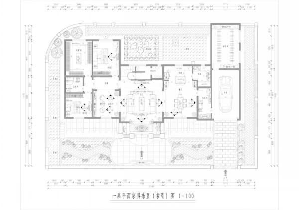 山语清晖花园-新古典风格-户型图