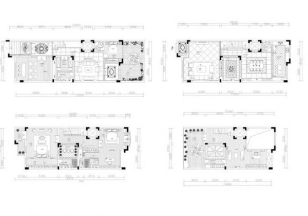 水榭山-中式风格-户型图