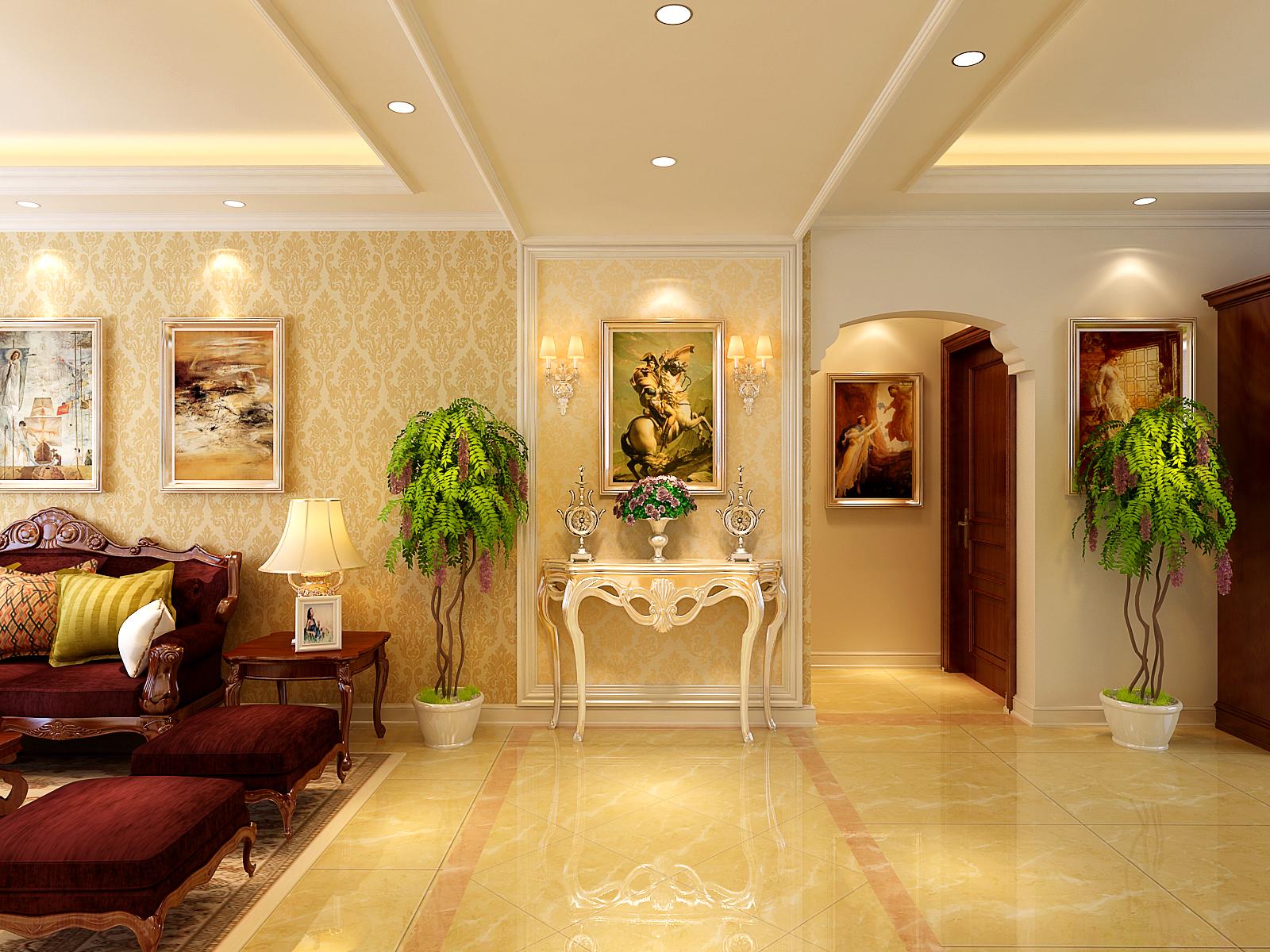 装修 设计 玄关图片来自东易日盛集团深圳分公司在香蜜原著-简欧风格图片