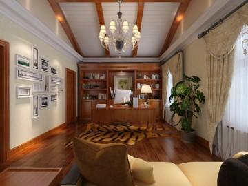 山语清晖花园-新古典风格-三室