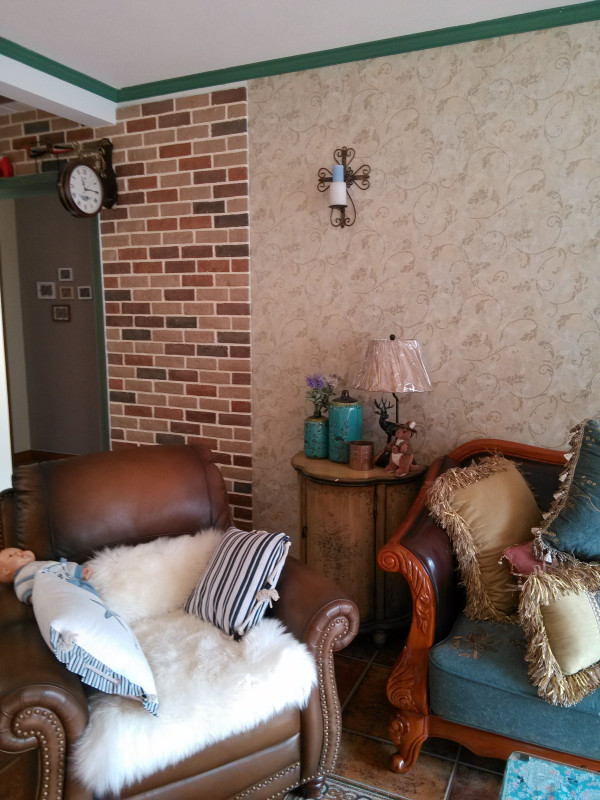 文化砖的使用让家变得更有温馨感和特色。
