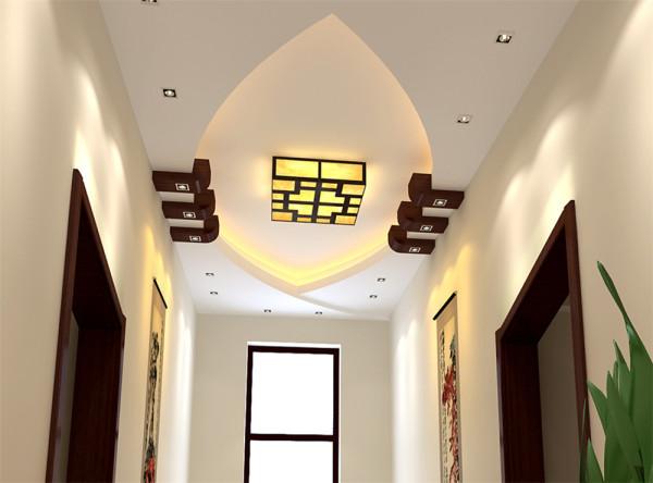 客厅大面积采用了米黄色的哑光砖铺贴,它既没有抛光砖的刺眼反射,也在防滑功能上也起到了很好的保护作用。