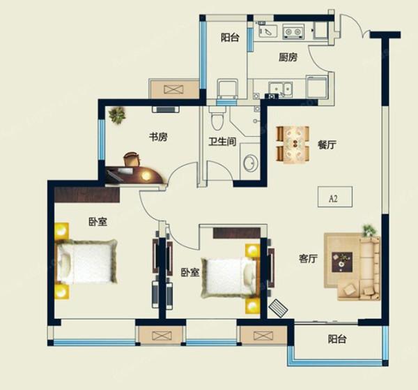 在风格上,采用独特创新的设计手法,局部用壁纸,石材及特殊材质,体现出个性的设计点,为业主营造出别致,温馨的家居环境。