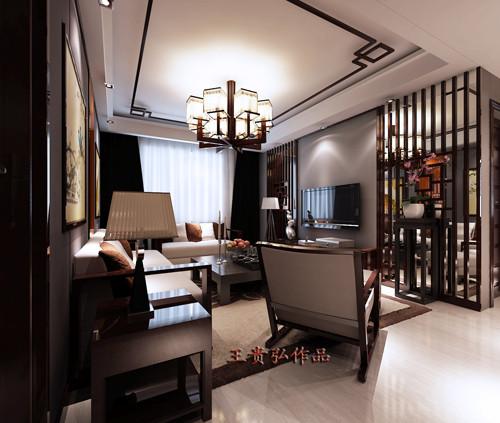 客厅是家里待客的地方,所以也成为家中装修的亮点所在,稳重大气的中式客厅,可以衬托出主任的修养和品味。