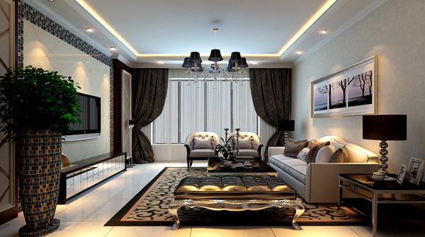 设计师在设计中地面的主要角色应该由地毯来担当,地毯的舒适脚感和典雅的独特质地与西式家具的搭配相得益彰。