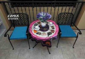 宜家 地中海 舒适 简约 阳台图片来自紫名居装饰在旭日爱上城90平的分享