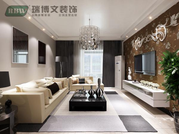 客厅做梯形回型顶,安装筒灯。