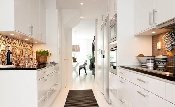 厨房放置一块专用地垫是实用与贴心的小窍门