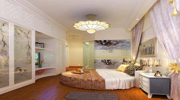 金辉枫尚-田园风格-两居室装修-卧室装修效果图