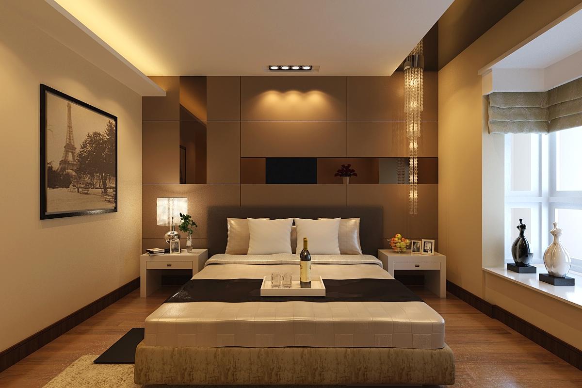 中式三居别墅白领卧室装修效果图片_装修美图-新浪网图片