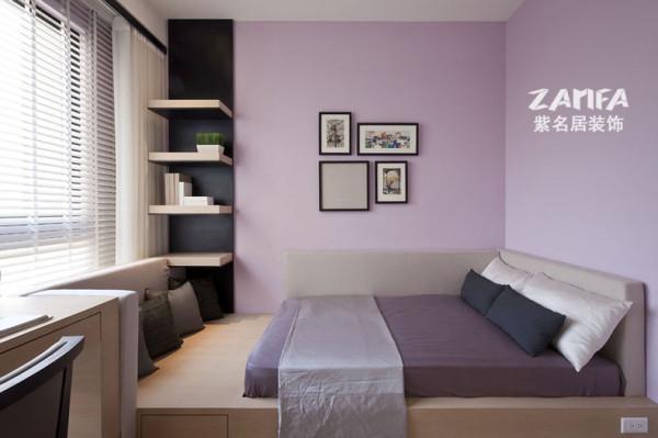 紫色的墙漆,一个紫色的梦