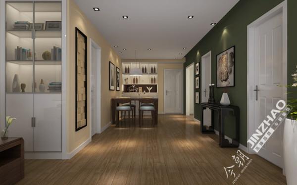家具风格选用材质自然,造型简约的曲美品牌家具,使客厅区域简约而不简单,体现主人儒雅内敛的性格特点,彰显主人独特的品味。