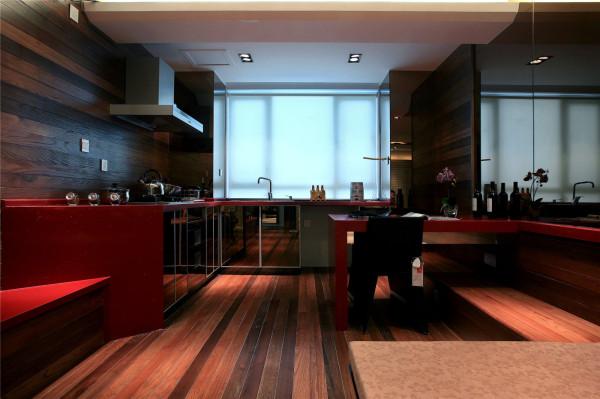 开放室厨房