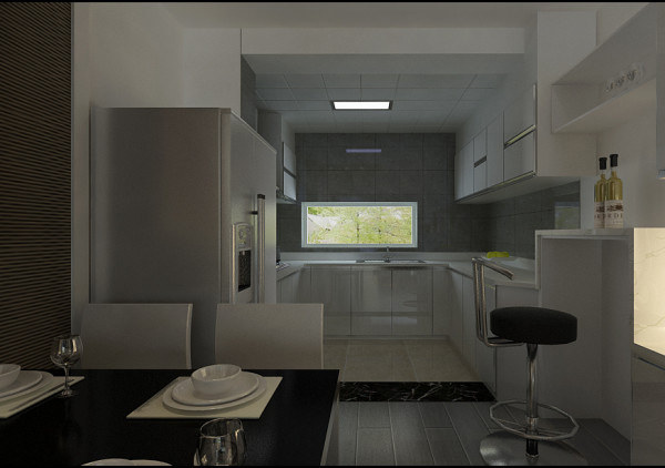厨房、吧台