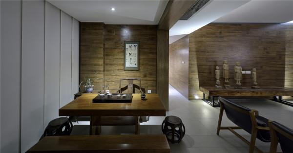 中式古代韵味的永威翡翠城实景