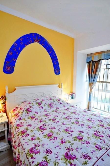 温馨的卧室让人心情愉悦,对睡眠有很大的好处