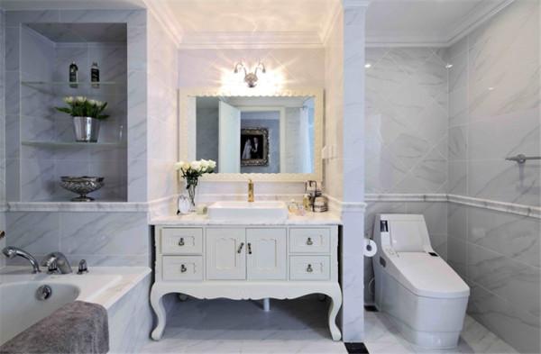 现代美式风格-卫生间