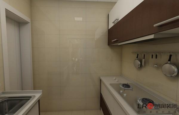 厨房的细节,特别注意一下光可照人的墙砖吧,这些材料在公司都能选购噢!