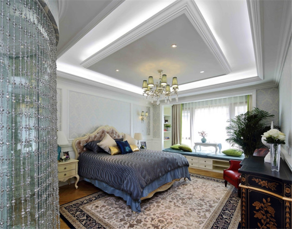 现代美式风格-卧室