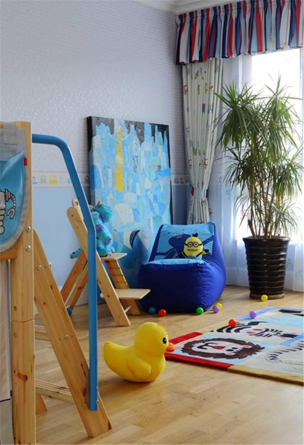 现代简约风——儿童房