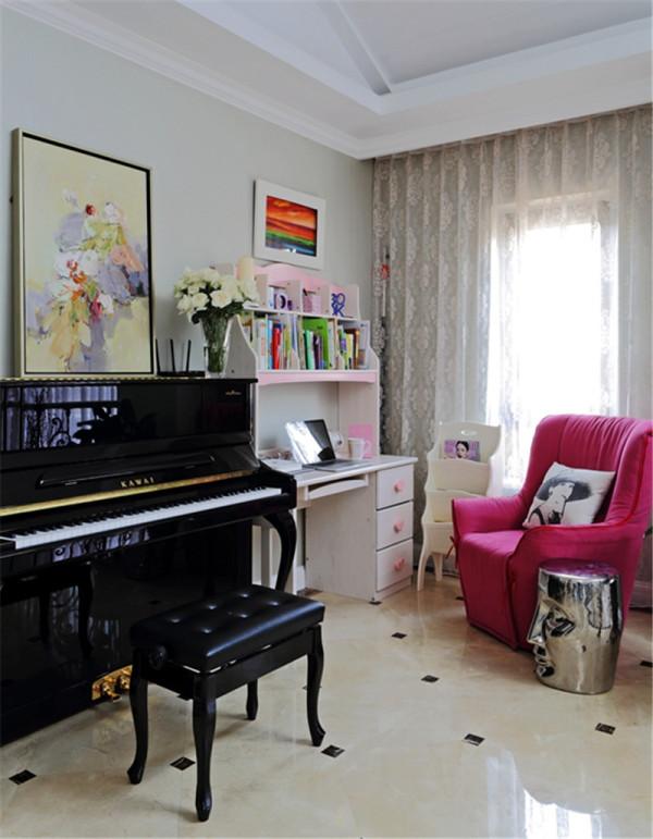 现代欧式——钢琴房