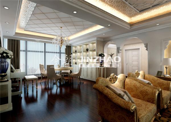 本案通过运用柔和的光来增添居室气氛,运用适当的中性光线把原本硬朗的装饰装修溶解的既华丽大气,又富浓厚的人文精神。