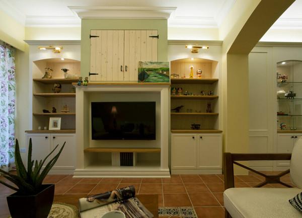 乡村的设计风格平实温馨,让人毫无压力地感受家的舒适。