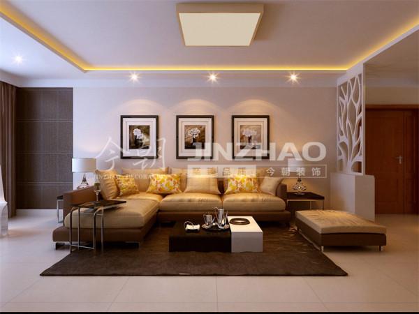 【设计说明】:本案设计时整体采用中性色调,设计线条简约流畅,色彩对比柔和,在设计中以软装营造家居空间,给居室留下变换的空间。