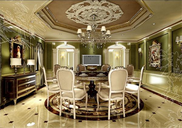 北京别墅装修——新古典欧式风格