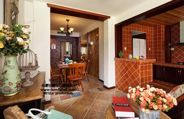 小方砖的厨房