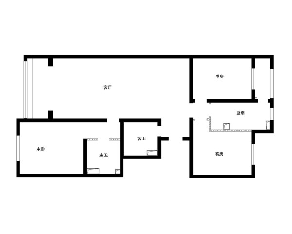 卧室地板选用实木地板,简约而不失高雅。壁纸选用米黄色,于整体格调相呼应。整个空间宽敞明亮,张显简约大气之风。进入卧室心情一片舒然。忘掉烦恼,很快进入