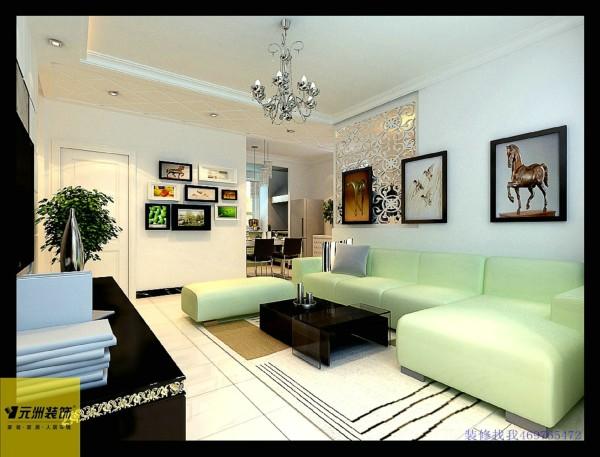 淡淡的沙发,搭配淡淡的墙漆,简洁时尚。
