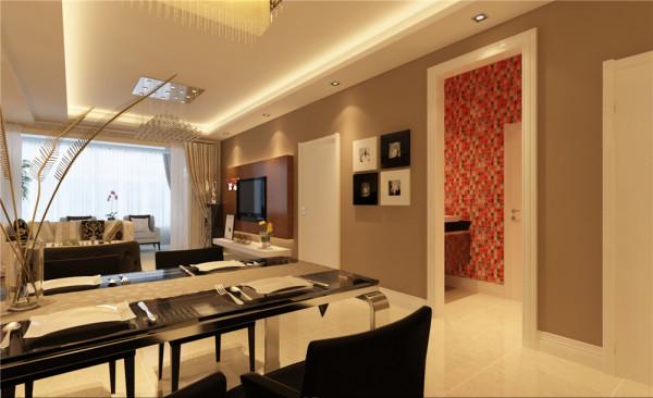 客厅大气、简约、沉稳为主基调,不要过多复杂的造型。  亮点:直线的灯带吊顶,灰色的墙漆白白的门和门框垭口结合出了色彩的搭配协调稳重又不失简约,局部的点缀壁纸电视墙更有层次感更有冲击力。