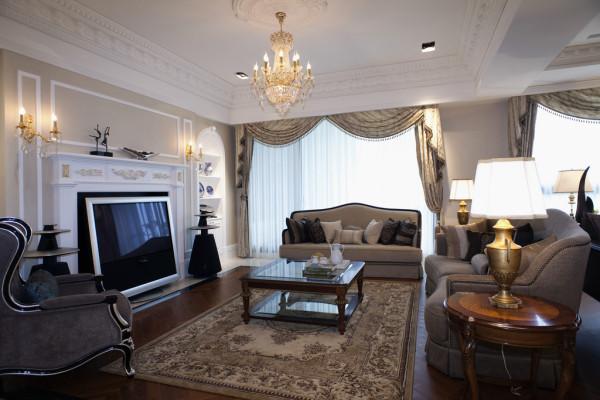 奢华的客厅