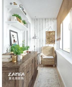 欧式 二居 白领 收纳 80后 小资 白富美 阳台图片来自紫名居装饰在金域华府两居室70平欧式的分享