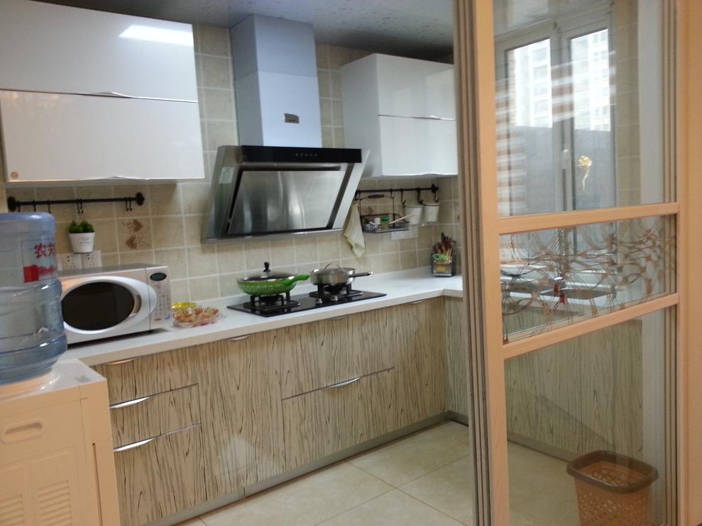 简欧风格 今朝装饰 三居室装修 厨房图片来自北京今朝装饰在实拍通州图片