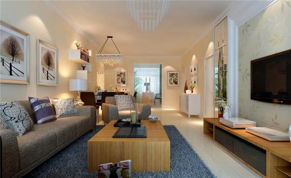 客厅是家人休闲、亲朋好友相聚的场所,客厅的电视背景墙成了最吸引人们眼球的地方。是体现主人个性化的一个特殊空间,是居室装饰特别是大户型居室的重点之一