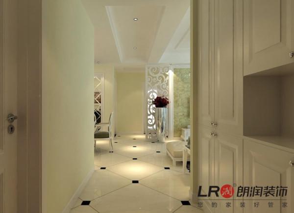 过道细节,地面的墙砖做了斜贴处理,更有风格的立体感噢!