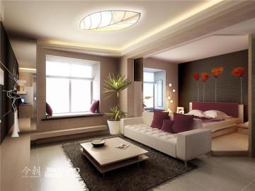 藏龙福地60平小公寓尽显朝气活力