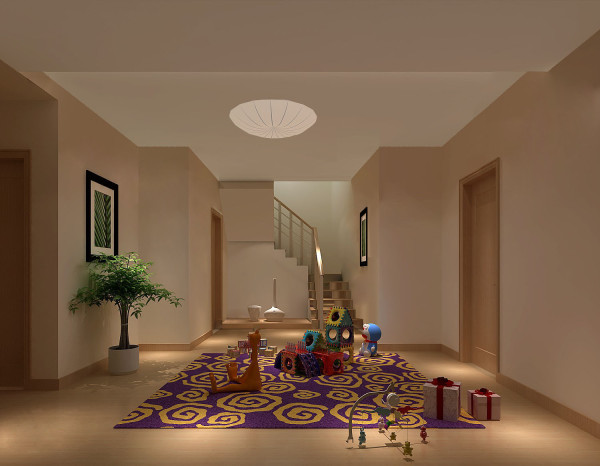 儿童房细节图 高度国际装饰设计