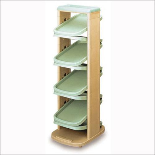 六层设计节省空间,可旋转底座,提供使用便捷,精致的外观具有观赏作用,此款鞋柜美观同时不失实用功能。