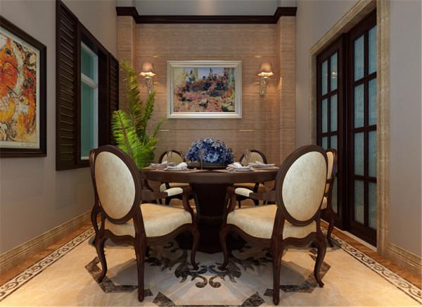 石质的墙体,木质的家具,一派自然风光,让人无比放松,房间的挑高处由厨房和餐厅组成,无阻碍的视野,坐在餐厅中就可以拥抱自然。灯光与自然光的辉映,催化出奇异的视觉效果。让人感受生活的宁静与娴熟。
