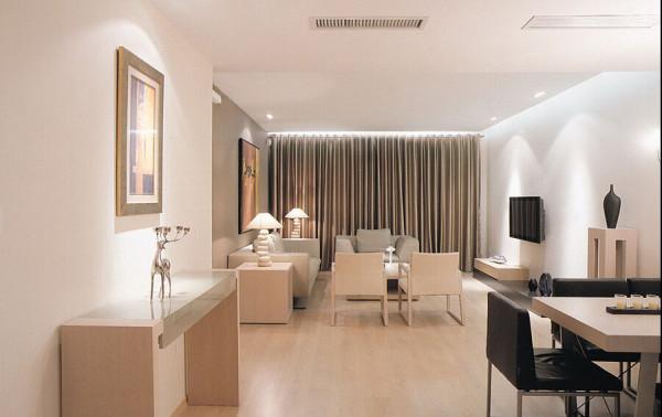 色调的统一让家居的整体效果和谐温馨。