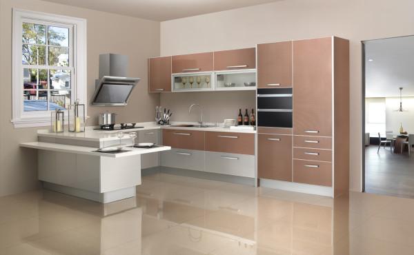 皇家系列  蒙特伯罗 Montebello  门板材质:金属板  台面材质:石英石  装修风格:现代风格