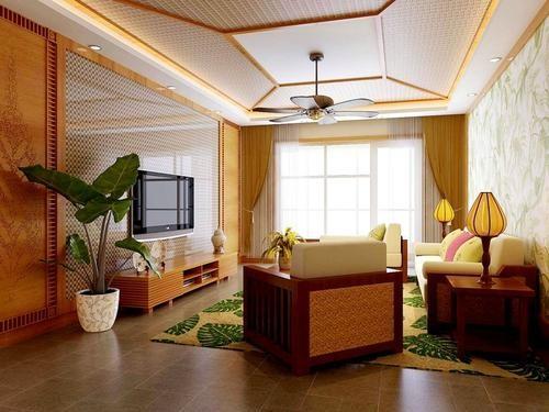 东南亚风格的装饰接近大自然的设计,鲜艳的色彩,原木的家居,布艺的装饰,独特区域风格的装饰品,整体效果让我们在享受自然的同时也在享受异域的风情,惬意舒适的家居生活。