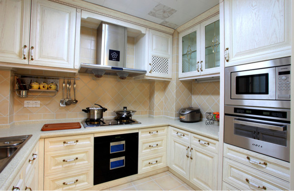 新房装修旧房改造现代风格混搭风格小户型厨房