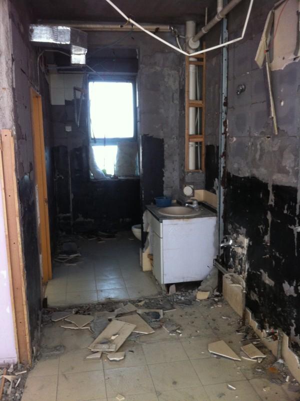老房装修前