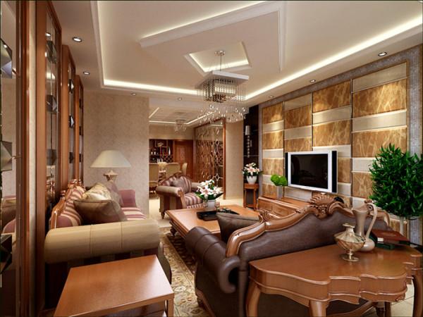 欧式派头室内弧线转变丰富,家具和灯饰和室内装饰品都能表现欧式特点并且体现出其中的文化氛围。色调用色优雅、委婉是欧式沙发的特质,它们拥有简洁而且柔美的线条,带给人们典雅、豪华又不失浪漫的感受。