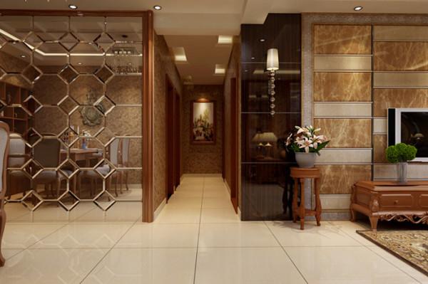欧式风格室内空间装饰比较适用于面积较大的空间。如果空间太小,无法展现出欧式风格的奢华气势,反而会形成空间的压迫感。